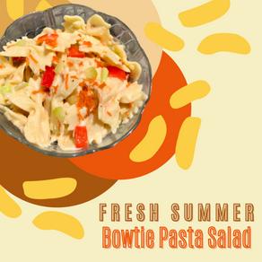 Fresh Summer Bowtie Pasta Salad