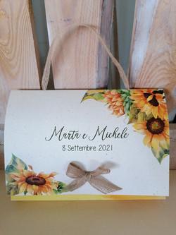Wedding Bag Pochette partecipiante / partecipazioni piantabili / partecipazioni ecologiche / parteci