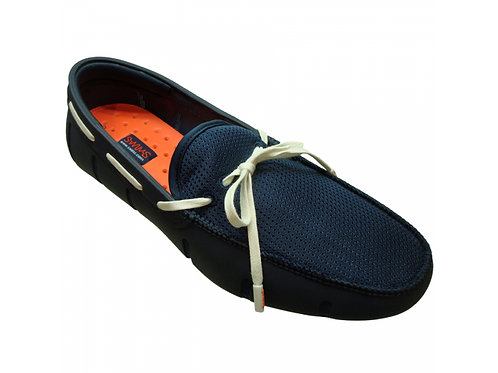 Swims: Braided Lace Loafer