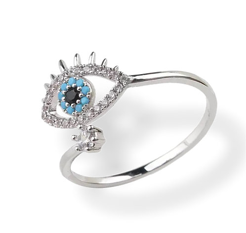 EYE ZIRCONIA RING