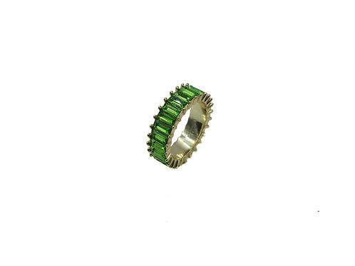 GREEN ZIRCONIA RING