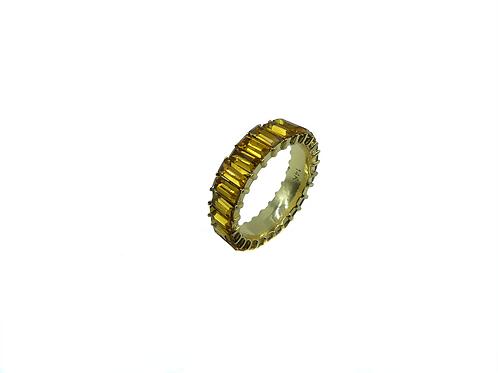 AMBAR ZIRCONIA RING