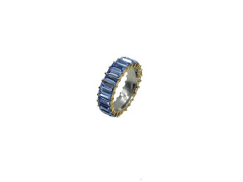 BLUE ZIRCONIA RING