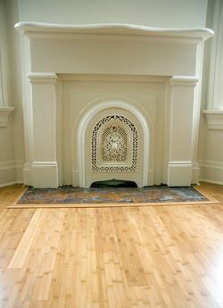 Eastside Historic Fireplace