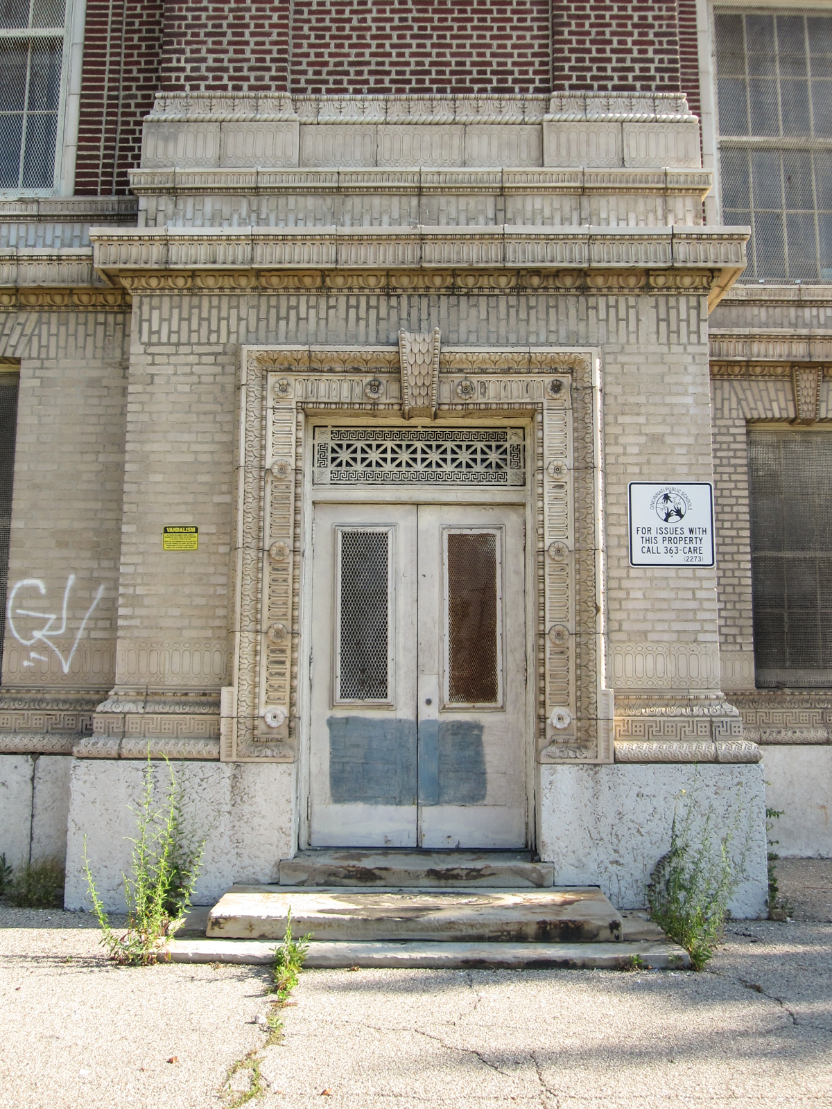 Sands Senior Historic Exterior 4