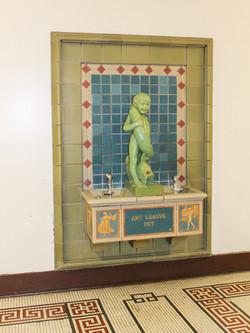 Alumni Lofts Historic Water Fountain