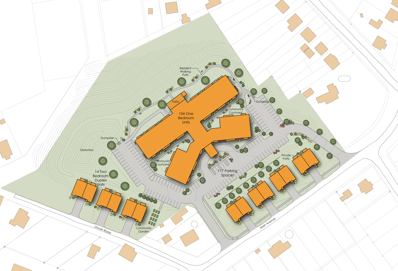 Highland Village Site Plan