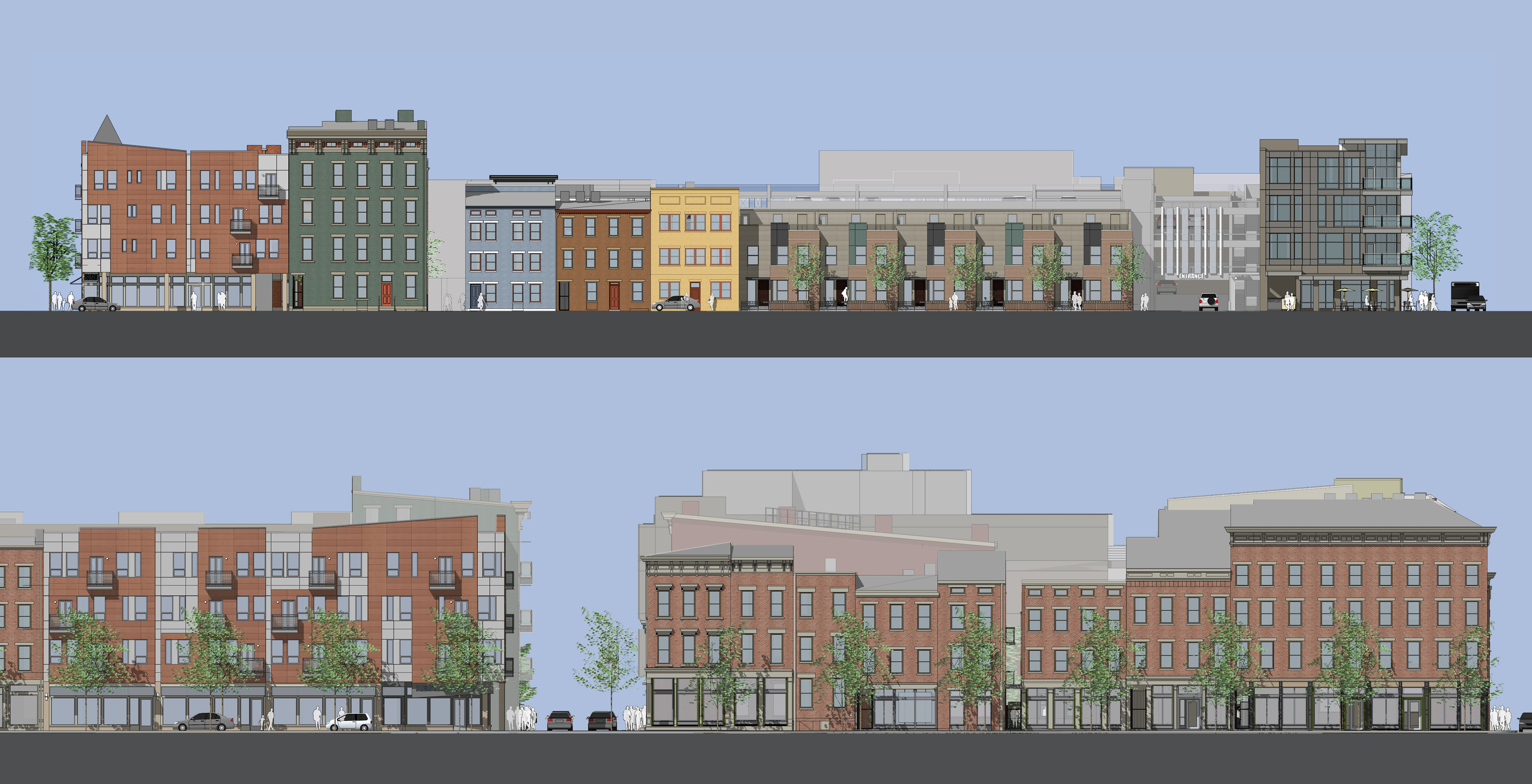 Mercer Commons Elevations