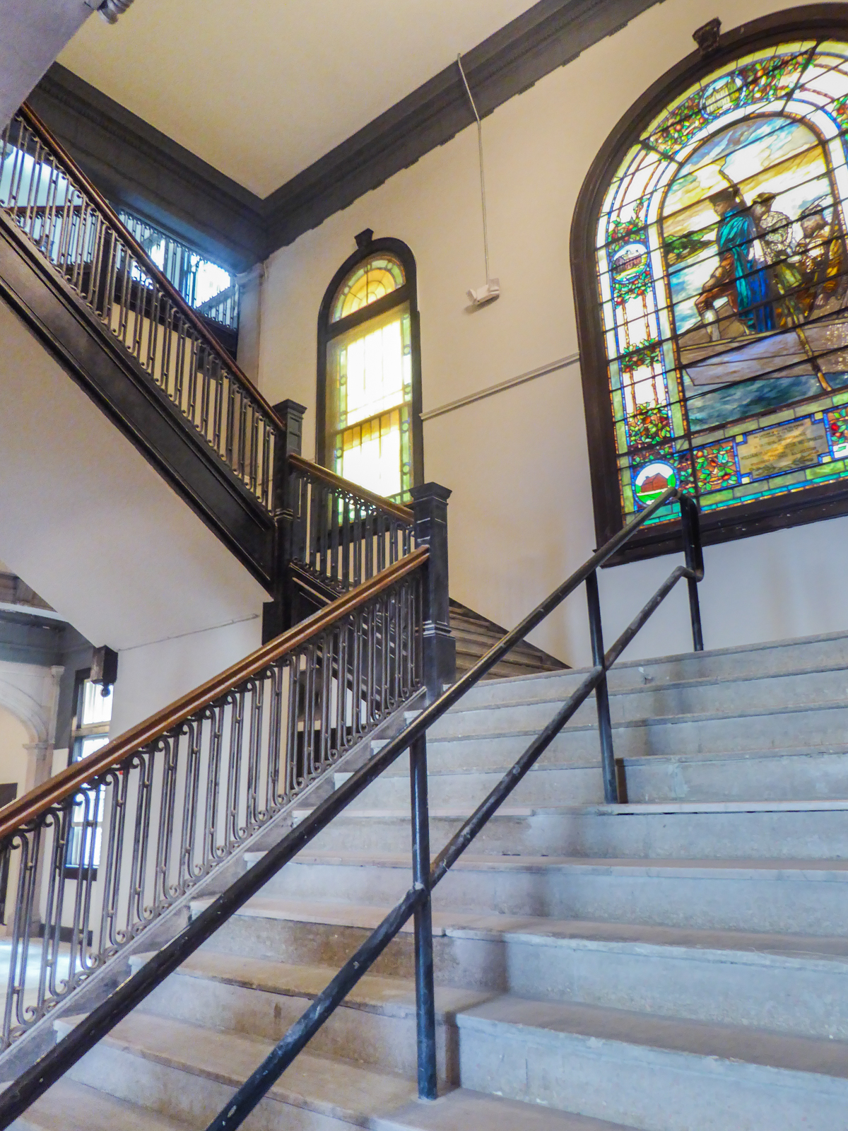 Alumni Lofts Historic Stair 1