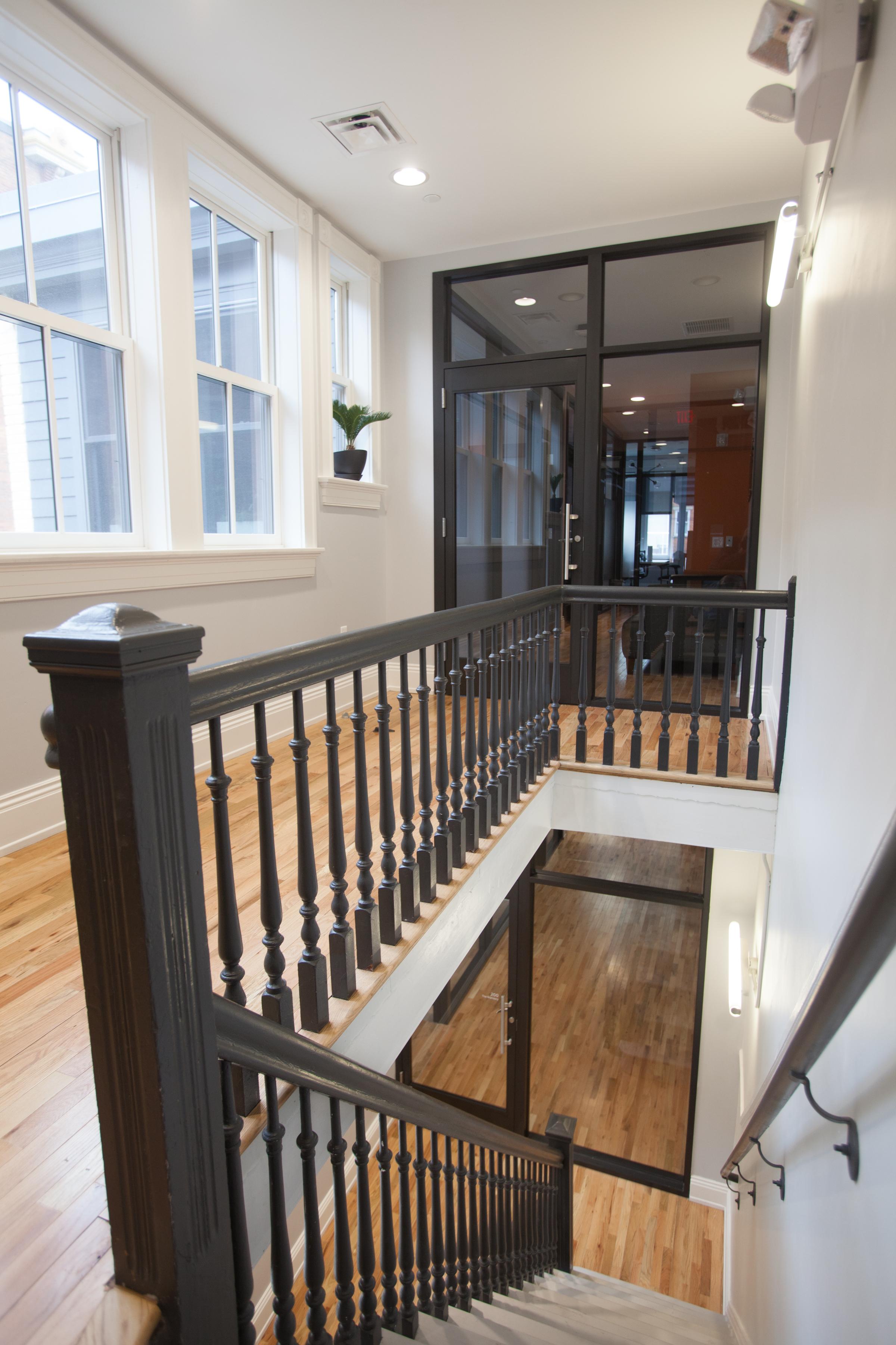 Cintrifuse Union Hall Historic Stair