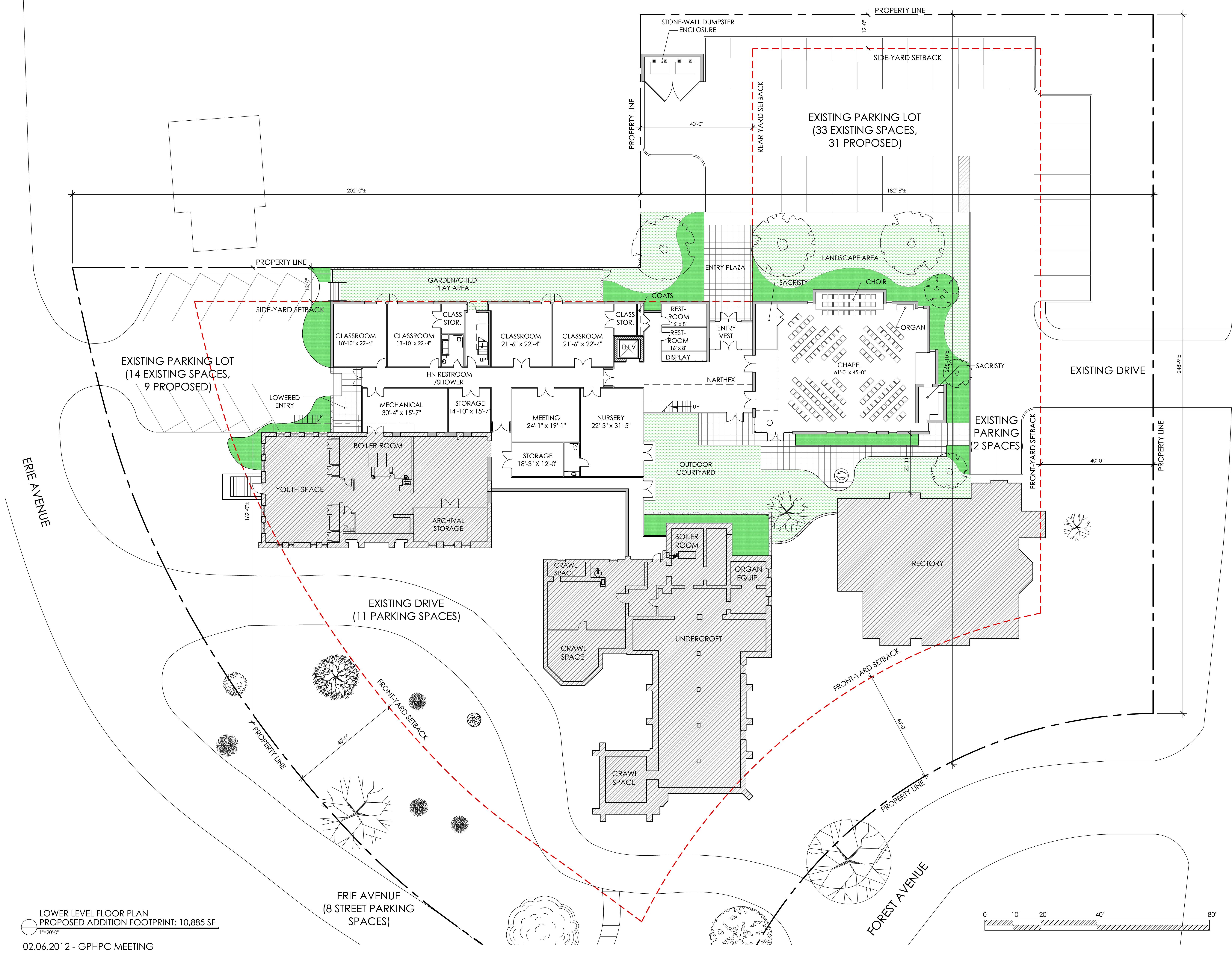 Christ Church Glendale Floorplan