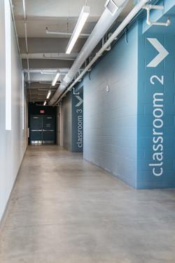 Shelterhouse Classroom Corridor