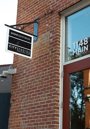 City Studios Sign