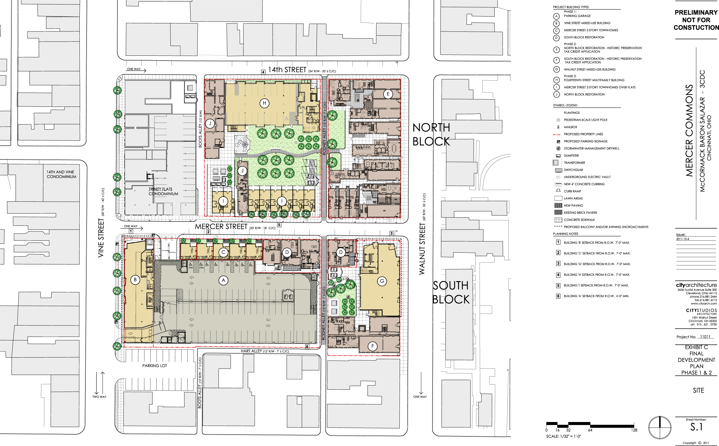 Mercer Commons Master Plan