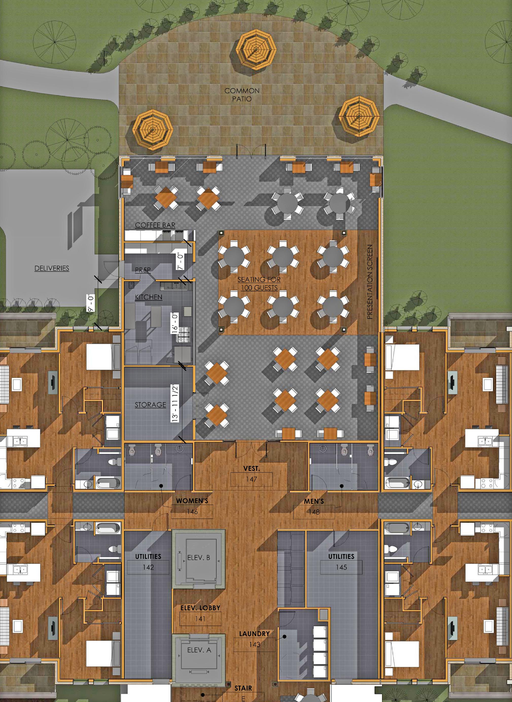 Highland Village Floor Plan