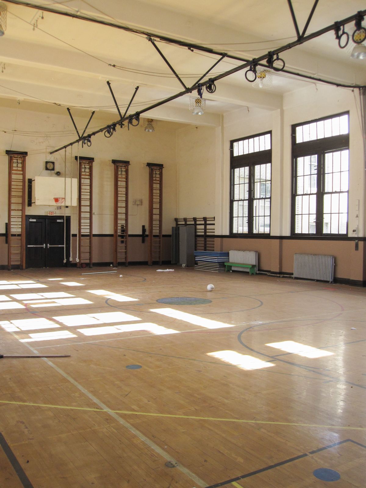 Sands Senior Historic Gym 1