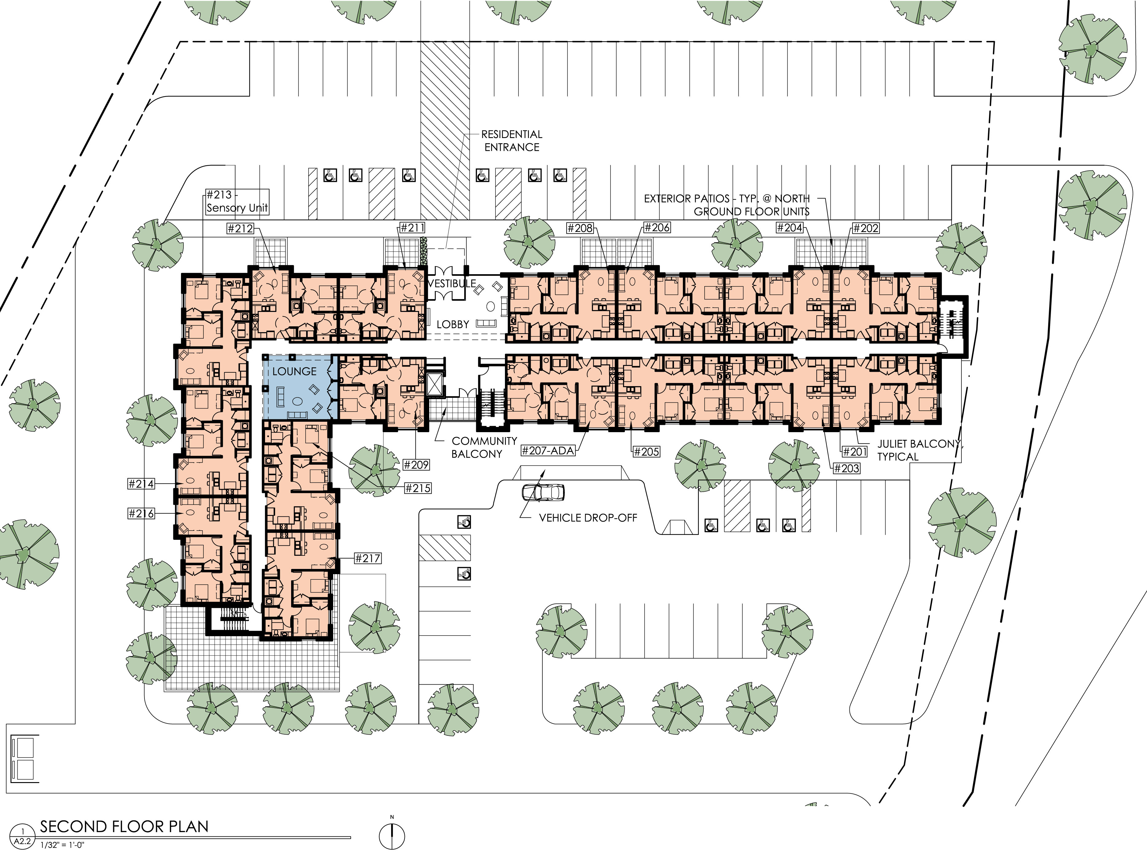 Roselawn Senior Floorplan