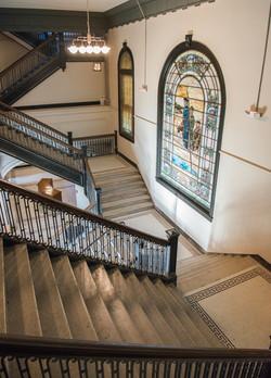 Alumni Lofts Historic Stair 2