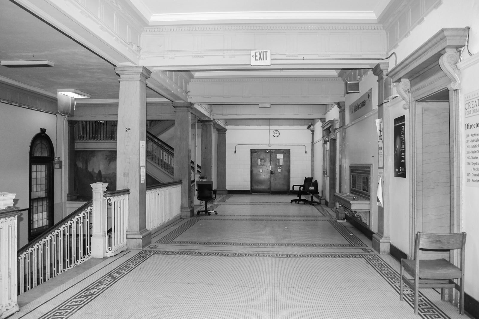 Alumni Lofts Historic Hallway 2