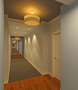 Highland Village Hallway