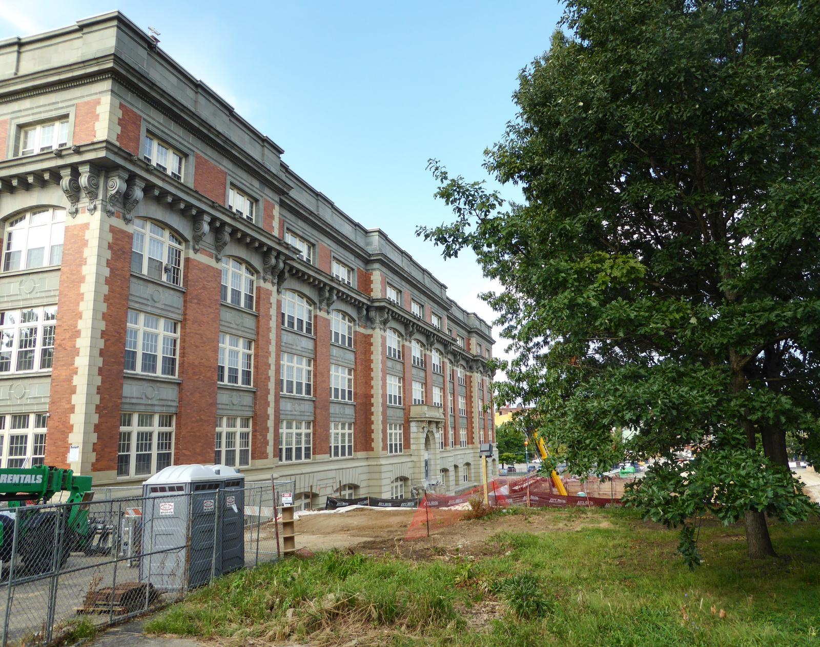 Alumni Lofts Historic Exterior 2