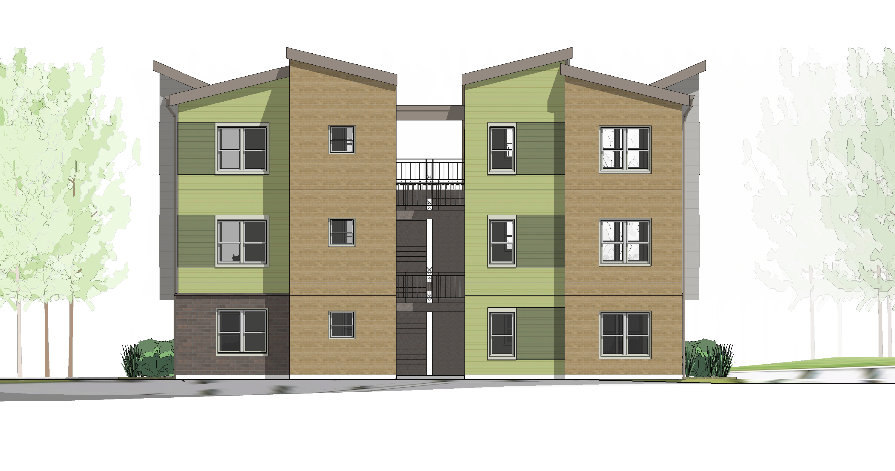 Parkside Phase 2 Elevation 1
