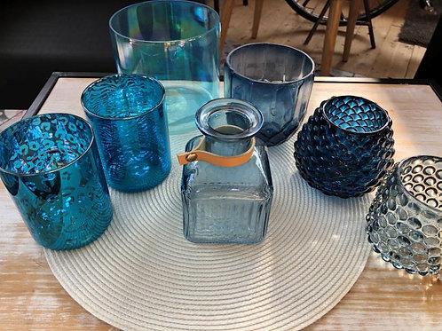 "Teelichter ""Blaue Lagune"""