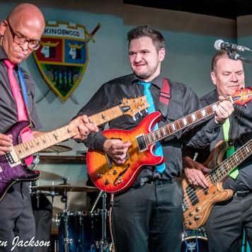 Laval, Greg & Tony at Kingswood Village Hall