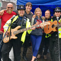 Ride London Event. Thankfully not getting arrested for playing Criminal Records!