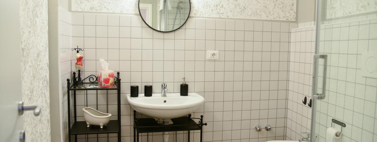 Double Blue Bathroom