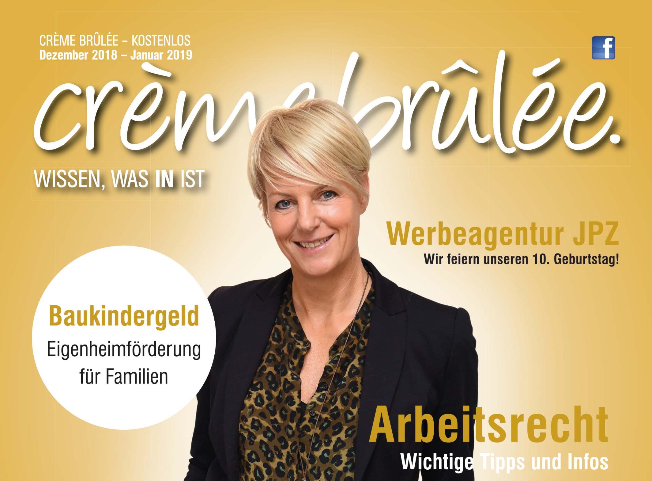 Stadtmagazin Crème Brûlée