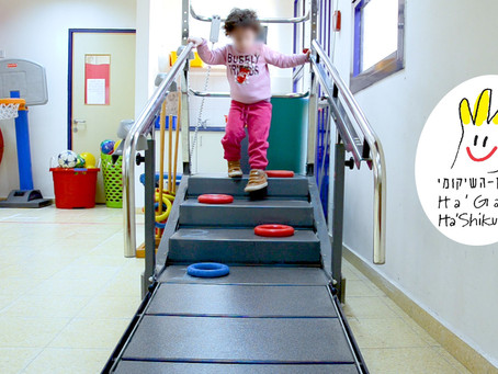 Avoiding obstacles on stairs - coordination and movement planning