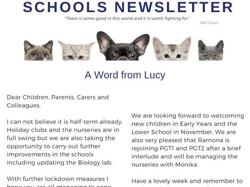 Newsletter 19.10.20