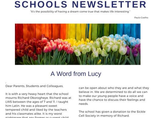 Newsletter 12/4/21