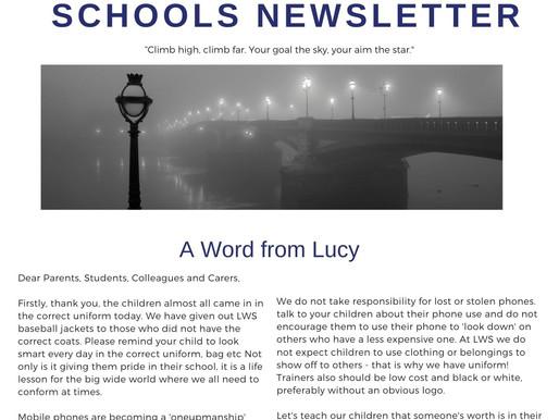 Newsletter 30/11/20