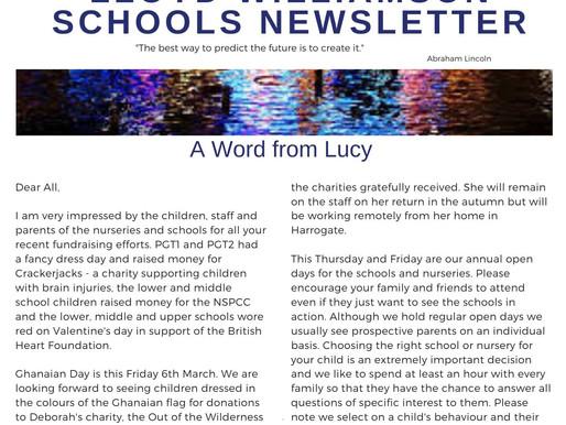 Newsletter 3/3/20
