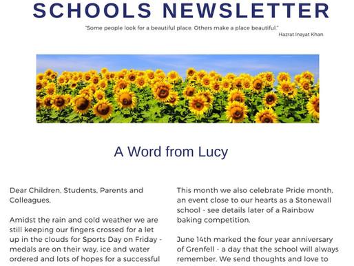 Newsletter 21.6.21