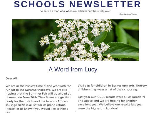 Newsletter 8.6.21