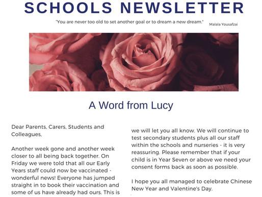 Newsletter 15/2/21