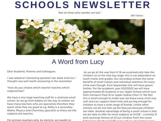 Newsletter 24/5/21