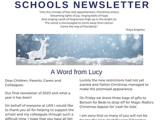 Newsletter 21/12/20