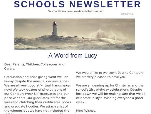 Newsletter 16.11.20