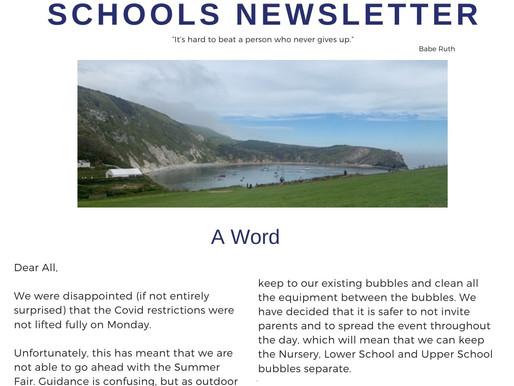 Newsletter 17.6.21