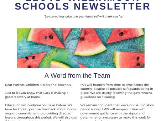 Newsletter 8/6/20