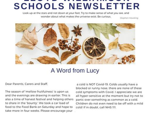 Newsletter 29/9/20