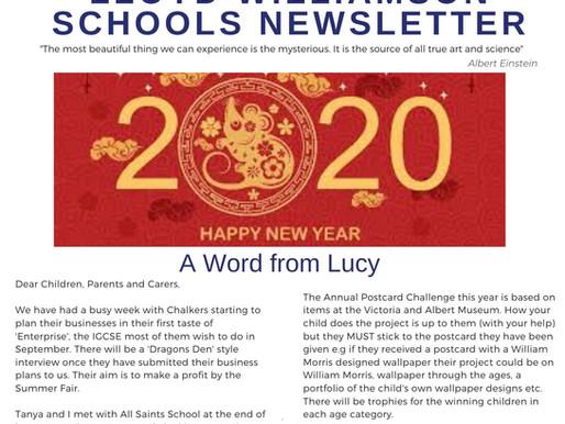 Newsletter 27.1.20