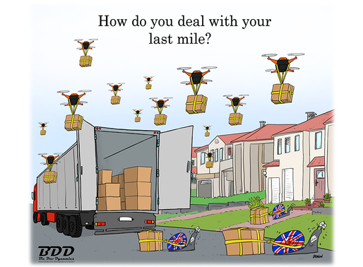 The last mile challenge: an uphill climb for the logistics sector at the moment