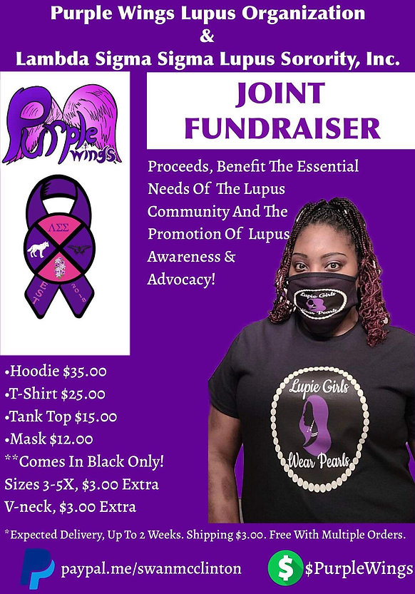 Lambda and Purple Wings Joint Fundraiser