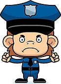 44605128-un-mono-oficial-de-policía-de-d
