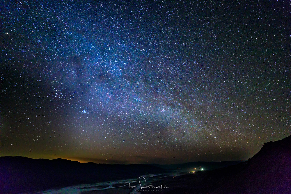 Milky Way over Death Valley (c) by Tom Lichtenwalter